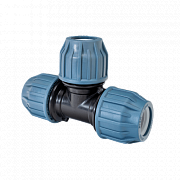 Plastic couplings for PE-pipes